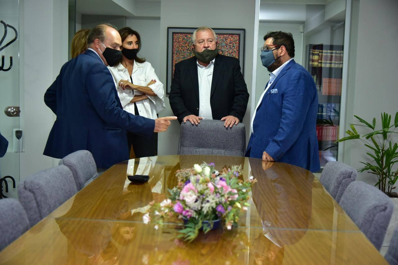 Visita de los miembros de la Corte y el Ministerio Público Fiscal